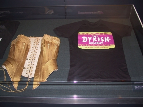 corset and dykish delight t-shirt