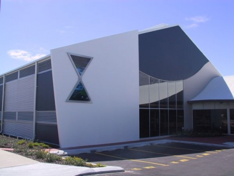 Marine Operations Centre Fremantle exterior 1995